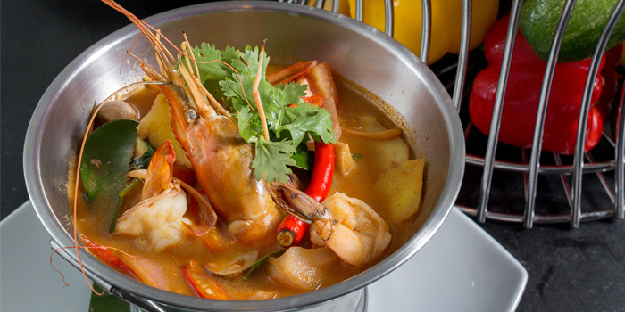 Spicy Prawn Soup from BYD Bar & Bistro in Patong, Phuket, Thailand
