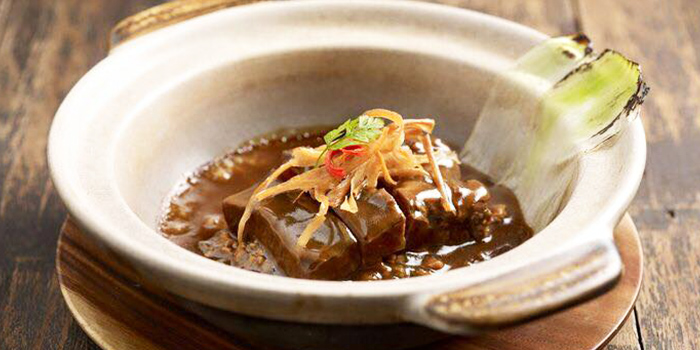 Slow Cooked Beef Cheeks with Aged Rice Wine from 厨神私房菜: The Chinese Kitchen at Bendemeer in Jalan Besar, Singapore