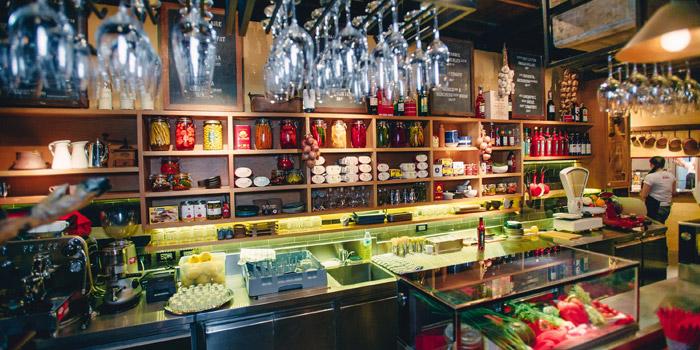 The Bar from Kika Kitchen & Bar at 14 Convent Rd, Silom, Bang Rak, Bangkok