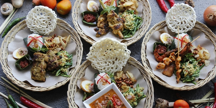 Dish 2 at The Dauh Restaurant, Petitenget