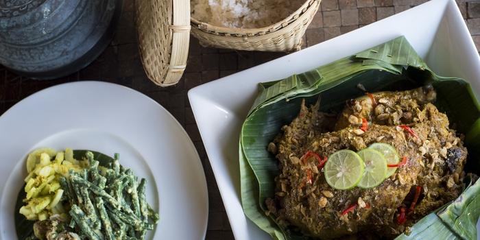 Dish 4 at The Restaurant, Chedi Club Ubud