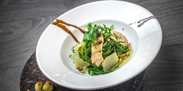 Dish 1 from Eric Kayser, Puri