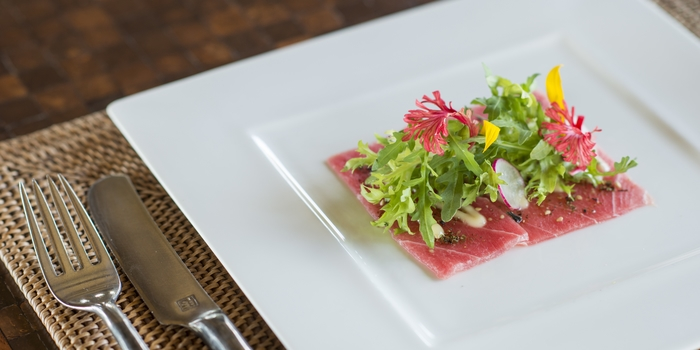 Dish 3 at The Restaurant, Chedi Club Ubud
