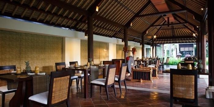Interior 2 at Gong Restaurant, Bali
