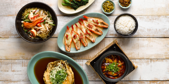 Food Spread from mezza9 in Grand Hyatt Singapore in Orchard, Singapore