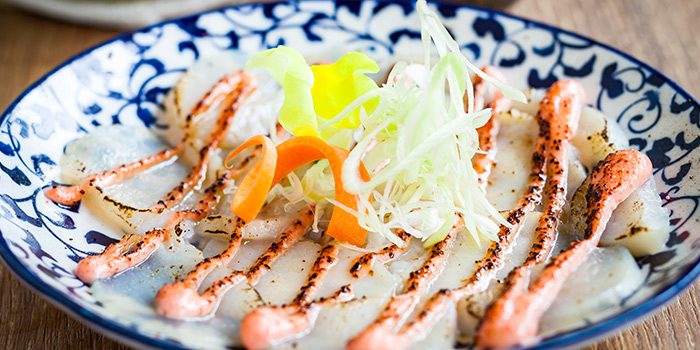 Aburi Hotate from Big Sake Bar at The Concourse Skyline in Lavender, Singapore