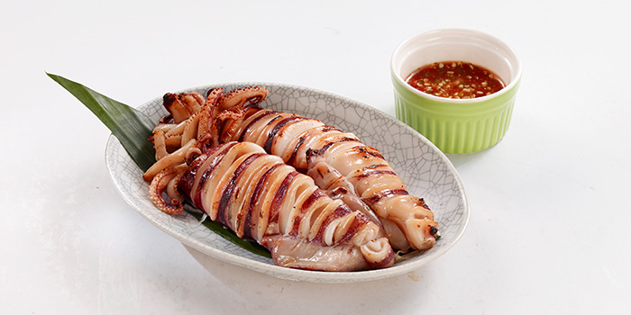Grilled Squid from Bangkok Jam (Wheelock Place) in Orchard, Singapore