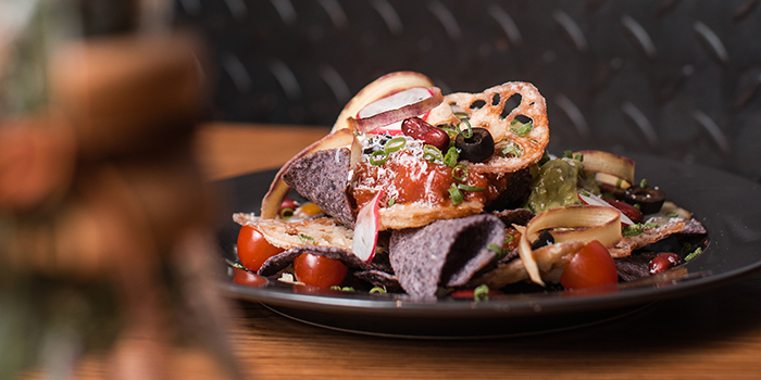 Blue Corn Nachos, The Coffee Academics, Wan Chai, Hong Kong
