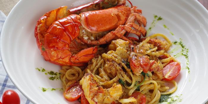 Canadian Lobster Spaghetti from Peppina at Mega Bangna 1st Flr 38-39, Bangna-Trad Rd. Bangplee Samutprakarn
