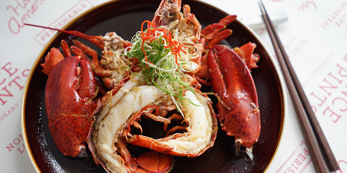 Cantonese Style Lobster (2 Jan to 3 Mar) from Pince & Pints Restaurant and Bar in Duxton, Singapore