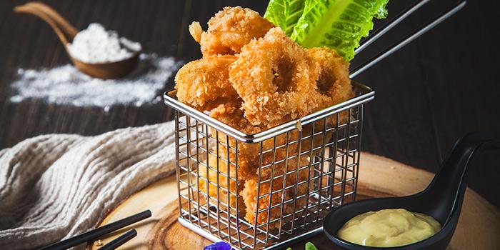 Calamari from Oh Chic Social Club & Eatery at Ekkamai 8/8 Sukhumvit 63 Prakanong Nua Wattana, Bangkok