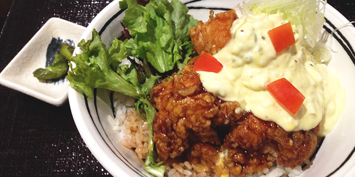 Chicken Don from Inaniwa Yosuke in Wisma Atria Shopping Centre in Orchard Road, Singapore
