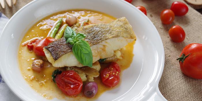 Cod Fish Acqua Pazza from Peppina at Mega Bangna 1st Flr 38-39, Bangna-Trad Rd. Bangplee Samutprakarn