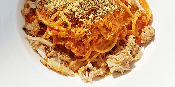Crabbie Spaghetti from WANNA CUPPA in Clarke Quay, Singapore