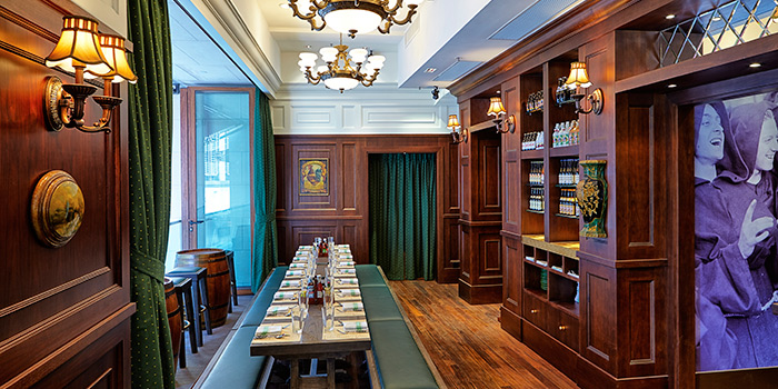 Dining Area, FRITIES Belgium on Tap, Central, Hong Kong