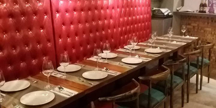 Dining Area, Uncle Pizza, Pasta & Grill, Central, Hong Kong