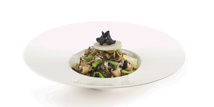 Mushroom Risotto with Black Truffle from Elemen @ HarbourFront Centre in HarbourFront, Singapore