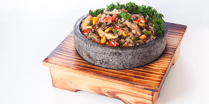 Sizzling Quinoa Brown Rice from Elemen @ HarbourFront Centre in HarbourFront, Singapore