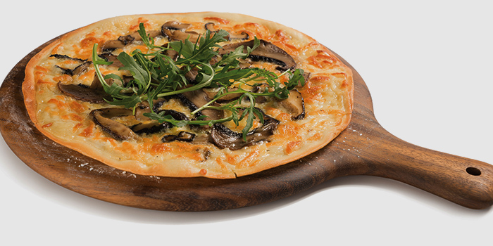 Truffle Pizza from Elemen @ HarbourFront Centre in HarbourFront, Singapore