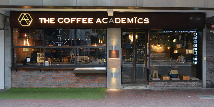 Exterior, The Coffee Academics, Wan Chai, Hong Kong