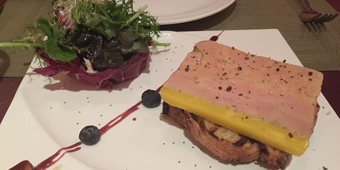 Filet de Boeuf Au foie Gras, Le Cafe Du Mont Blanc, Happy Valley, Hong Kong