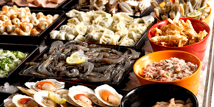 Seafood from Seoul Garden (Marina Square) in Marina Square, Singapore