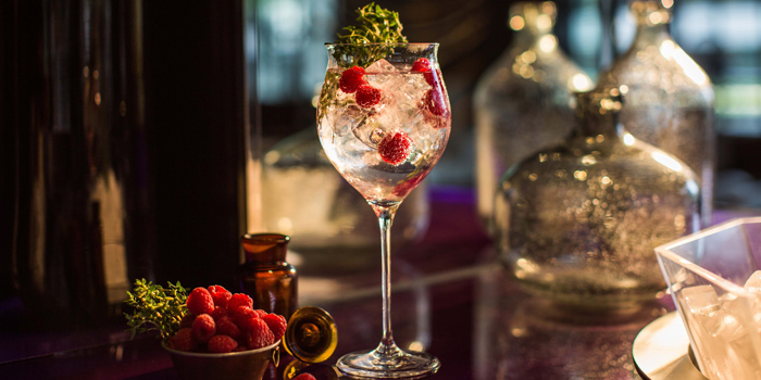 Iconic Gin & Tonic from WOOBAR at W Hotel 106 North Sathorn Rd Silom, Bangrak Bangkok