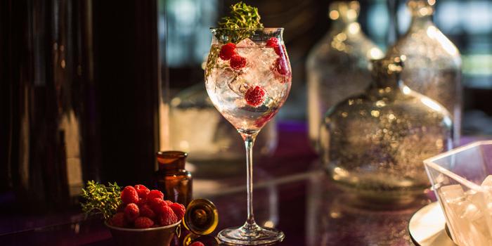 Iconic Gin & Tonic from WOOBAR at W Hotel 106 North Sathorn Rd Silom, Bangrak Bangkok