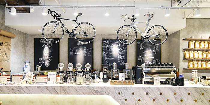 Interior, The Coffee Academics, Wan Chai, Hong Kong