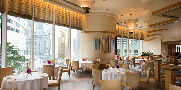 Interior, Brasserie On The Eighth, Admiralty, Hong Kong