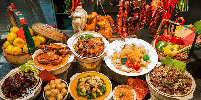 Chinese New Year Food Spread (1-28 Feb) from J65 @ Hotel Jen Tanglin at Hotel Jen in Tanglin, Singapore