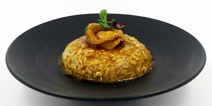 Abalone Rice  from Kuvo in Orchard, Singapore