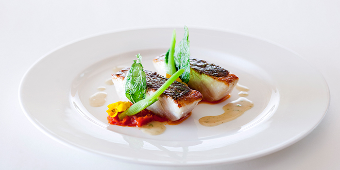 Line Caught French Seabass, Brasserie On The Eighth, Admiralty, Hong Kong