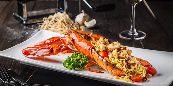 Lobster Pasta from Oh Chic Social Club & Eatery at Ekkamai 8/8 Sukhumvit 63 Prakanong Nua Wattana, Bangkok