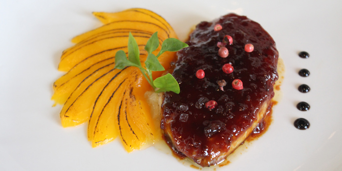 Pan Seared Foie Gras from Brasserie 9 at Asiatique The Riverfront, Bangkok