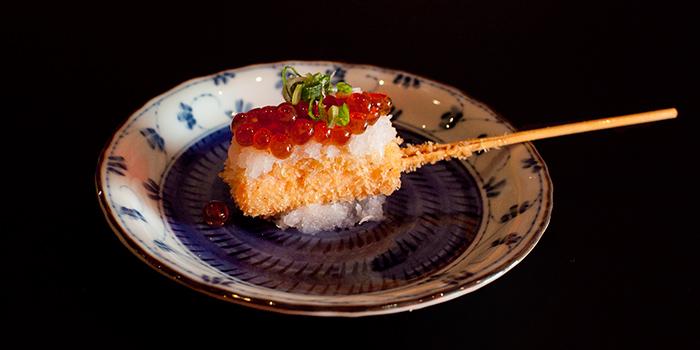 Salmon with Ikura from Panko in Bugis, Singapore