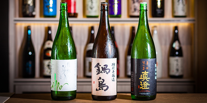 Sakes from Big Sake Bar at The Concourse Skyline in Lavender, Singapore