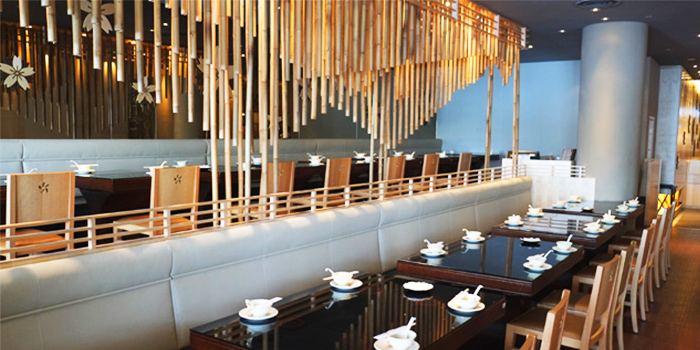 Dining Area of Shabuya and Shochu Bar at Vivocity in Harbourfront, Singapore