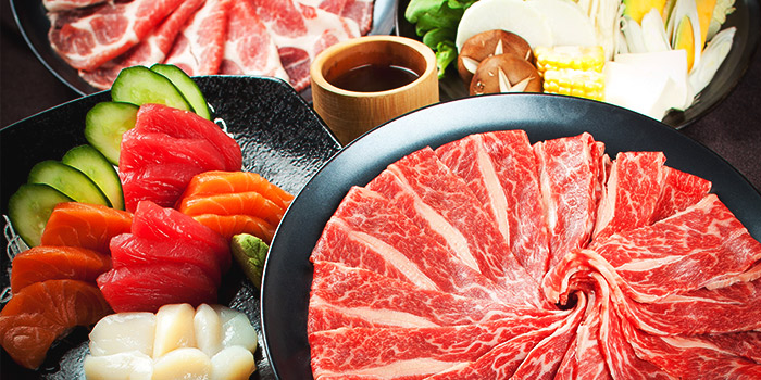 Meat Platter of Shabuya and Shochu Bar at Vivocity in Harbourfront, Singapore
