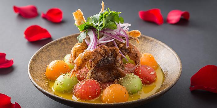 Softshell Crab, CÉ LA VI Restaurant Hong Kong, Lan Kwai Fong, Hong Kong