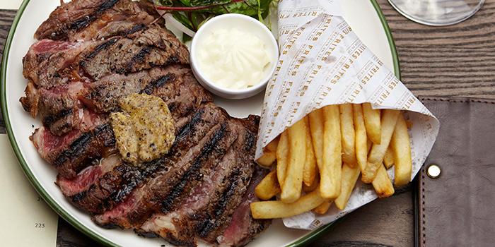 Steak & Fries, FRITIES Belgium on Tap, Causeway Bay, Hong Kong