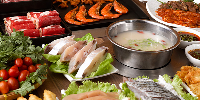 Steamboat from Seoul Garden (Bugis Junction) in Bugis, Singapore