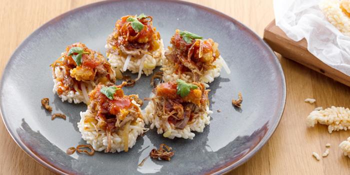 Stew Pork Belly & Rice Cracker from Twilight Sky at The SIS Kata, Phuket, Thailand