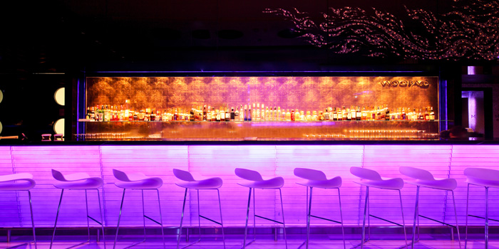The Bar Area from WOOBAR at W Hotel 106 North Sathorn Rd Silom, Bangrak Bangkok