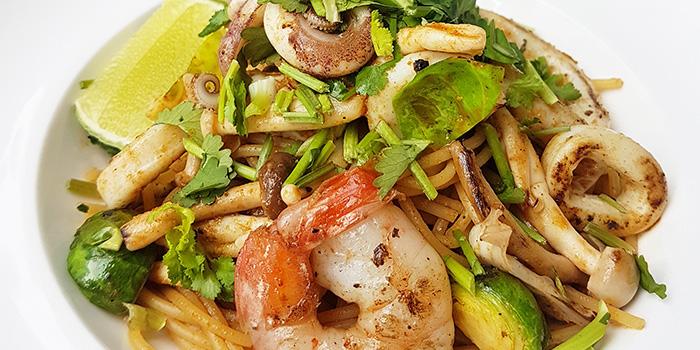 Tom Yum Seafood Spaghetti from WANNA CUPPA in Clarke Quay, Singapore