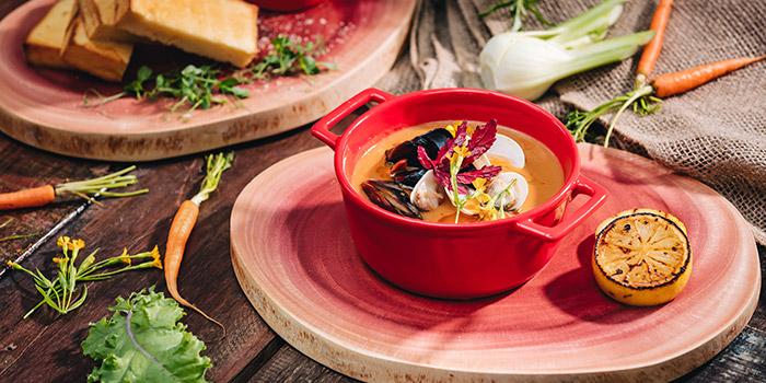 Seafood Bouillabaisse from Vineyard at HortPark in Telok Blangah, Singapore
