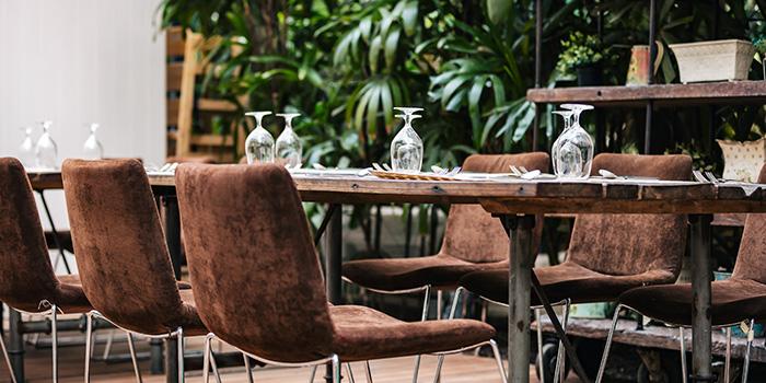 Verandah of Vineyard at HortPark in Telok Blangah, Singapore