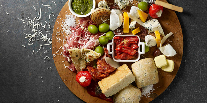 Cold Cuts & Cheese Platter from Winestone at Mercure Singapore on Stevens in Tanglin, Singapore
