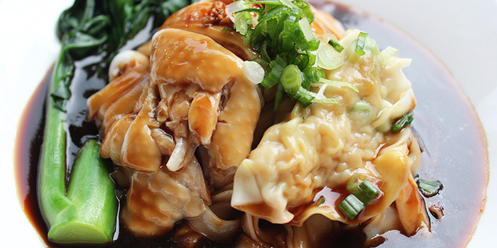 Chicken and Wanton Noodle from Yee Cheong Yuen Noodle Restaurant at Holland Village, Singapore