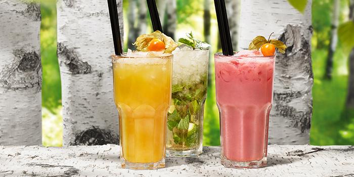 Cocktail Alkohol LEICHTSINN LEBEMANN NUSSKNACKER from Hans Im Gluck German Burgergrill in Orchard, Singapore